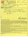 Orders for laboratory work [to] Bruce Herschensohn, Hollywood, Calif. [from] Consolidated Film...