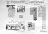 Assembled news clippings regarding horse club activities