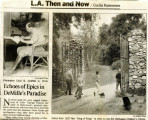 Newspaper article about the Cecil B. DeMille ranch