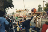 Pepperdine float in the 1987 Rose Parade