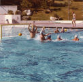 Exhibition water polo match at Pepperdine University, 1982