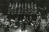 Pepperdine Symphony and Chorus in performance, 1988