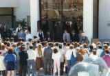 Rededication of Payson Library after its expansion in 1987