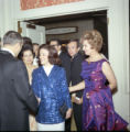 Guests arriving at Pepperdine's Birth of a College dinner, 1970